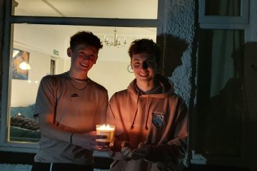 Boarders Candle for Covid Vigil featured image