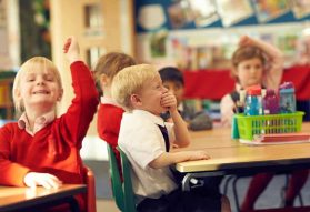 Image of Fairfield Pupils in a classroom