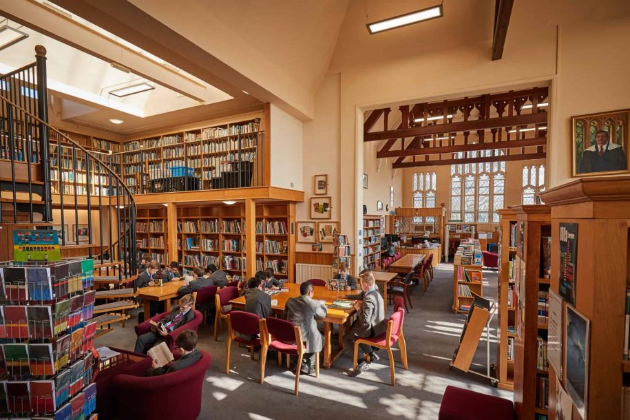 Library featured image